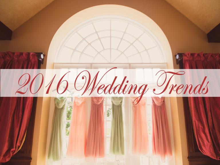 Hottest Wedding Trends of 2016